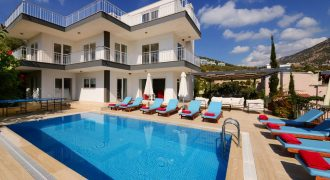 MODERN 6 EN SUITE BEDROOM LUXURY VILLA WITH PRIVATE POOL. LOCATED IN ORTAALAN
