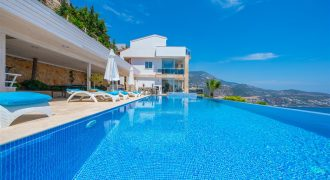 Luxury 6 Bedrooms Stylish Villa For Sale in Kalkan