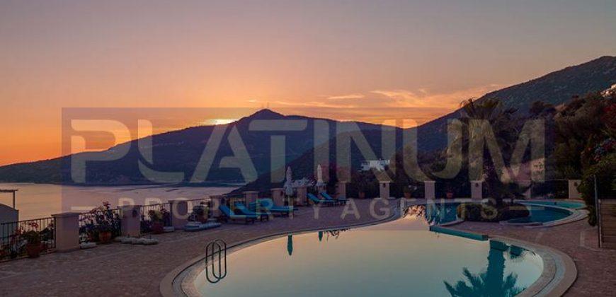 Sea View Apartment For Sale in Kalkan