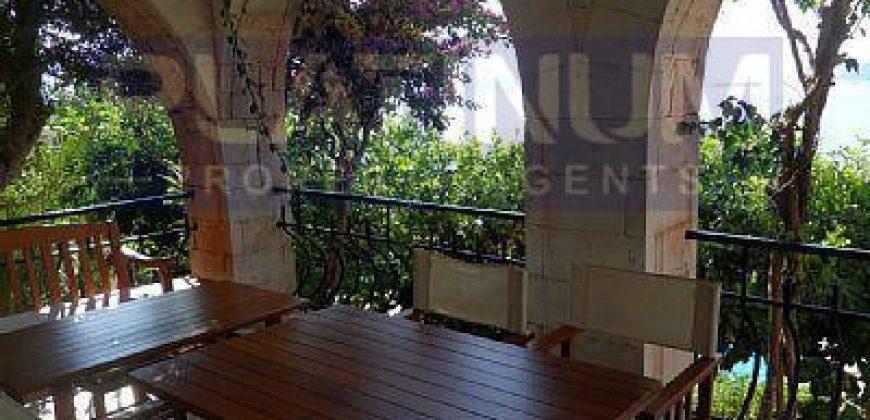 Beautiful 4 Bedroom Peninsula Villa With Magnificent Kastellorizo View