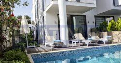 For Sale 2 Bedroom Stylish Duplex Apartment with Private Pool in Kalkan