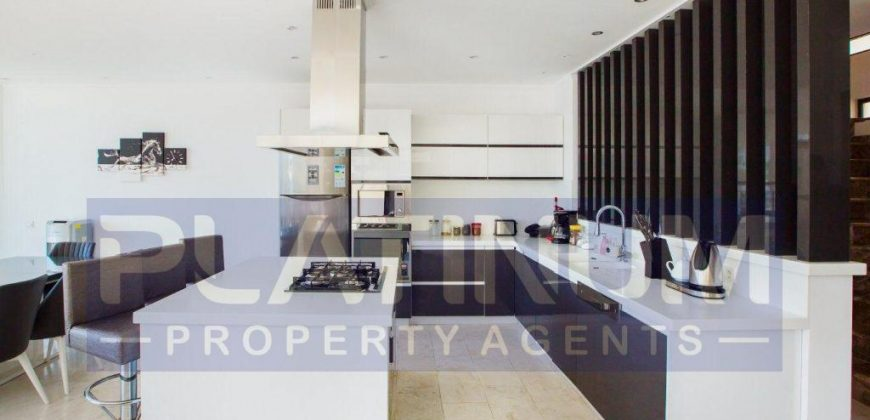 Incredibly stylish villa with private infinity pool and stunning views over Kalamar Bay For Sale