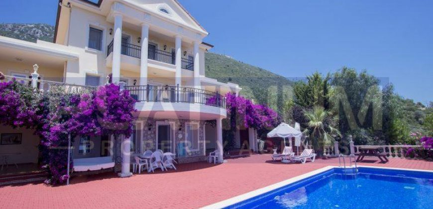 Amazing sea view luxury mansion in Kaş